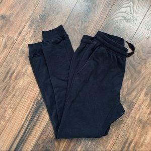 Ring of Fire Black Joggers Lounge Pants M
